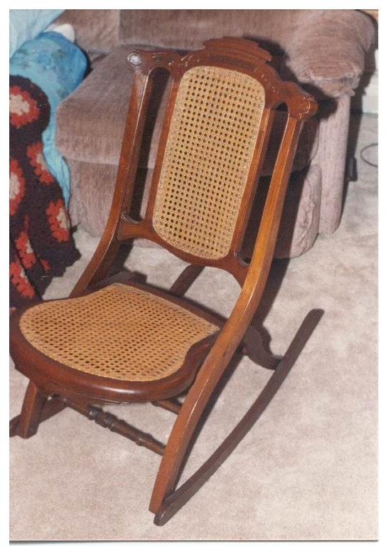 - Invention Of First Folding Rocking Chair In U. S.
